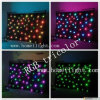 Kerstmis Ornament RGB LED Star Curtain met Seven Colors