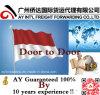 De huis-aan-huis Dienst van China aan Indonesië