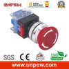 Onpow 30mm Emergency Switch (LAS0-K30-11TSA/R, Ce, CCC, RoHS)