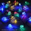 25의 LED 크리스마스 나무 태양 끈 빛
