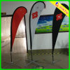 Outdoor Oxford Fabric Beach Flag Display Stand Teardrop Banner
