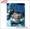 CF8 válvula de verificação do balanço da flange do aço inoxidável H44W