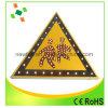 Signal d'alarme r3fléchissant imperméable à l'eau d'aluminium de triangle