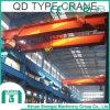 Tipo gru a ponte di Qd di 50 tonnellate della trave del doppio