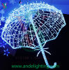 LED 3D Umbrella Motif Light für Holiday Decoration