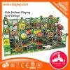 Campo de jogos ajustado do labirinto das crianças do equipamento do balanço interno para o jardim de infância