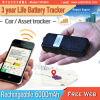 Long traqueur de la durée de vie de la pile GPS/1 an 2 ans traqueur de voiture de la durée de vie de la pile GPS de 3 ans