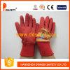 Красный хлопок с перчатками красного латекса Coated для малышей Dcl521