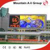 Grand écran polychrome d'affichage à LED de la publicité extérieure