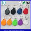 LF/wasserdichter RFID Plastikschlüsselmarke HF-für Tür-Zugriffssteuerung