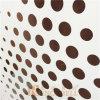 Panneau de plafond en aluminium de gradient de trous ronds faits sur commande de cavité