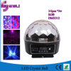 Stage Disco DJ를 위한 30W LED Crystal Ball Effect Lighting