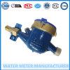 Tipo seco de bronze medidor de água do uso doméstico