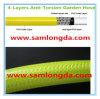 Boyau de jardin flexible de PVC de Non-Torsion
