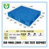Pálete plástica usada do HDPE da face 1100*1100 venda quente contínua resistente