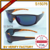 Sports neufs Sunglass de mode avec l'aperçu gratuit (S15076)
