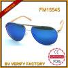 Modèle neuf de vente chaud de bâtis de lunettes de soleil populaires en métal