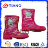 De kleurrijke Laarzen van de Regen van pvc van de Manier voor Kinderen (TNK70006)