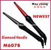 最も新しいダイヤモンドのハンドルの方法円錐毛のヘアアイロン(M607B)
