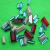 Granos de lujo cristalinos de las piedras de los diamantes de Strass del rectángulo