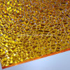 Polycarbonate jaune Diamant Embossé Solid Sheet