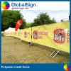 屋外の顧客用ポリエステル塀の網の旗(DSP04)