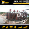 Impianto di lavorazione del concentratore del minerale metallifero di gravità dell'oro mobile a spirale minerale della macchina