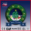 Рождественская елка и симпатичный венок Дед Мороз декоративный СИД