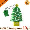 Heißer fördernder Geschenk-Weihnachtsbaum USB-greller Steuerknüppel (YT-Geschenk)