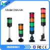 Torre clara do diodo emissor de luz com alarme da campainha eléctrica/piscamento vermelho