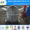 Protezioni emisferiche del tubo delle teste del acciaio al carbonio per le caldaie