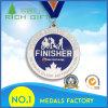 Medaglie su ordine della stazione di finitura della concorrenza di maratona con il marchio nessun minimo