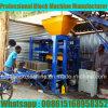 Máquina de fatura de tijolo Qt4-24 pequena em Ghana