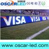 Sinal de anúncio lateral do indicador de diodo emissor de luz do campo de futebol