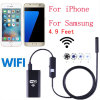 8.0mm Lente Wireless WiFi Camera Snake Inspection Endoscope para iPhone e Smart Phones