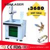 Utiliser extensivement la machine d'inscription de laser de fibre sur le PVC de PEC de /ABS en métal