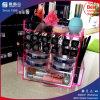 Caliente rosa del estilo del lápiz labial de acrílico Display