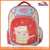 Sacos de escola coloridos duráveis do bordado da flor do urso