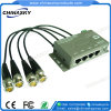 4CH CCTV Cat5力のビデオデータコンバイナーバラン(PVD304)