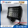 72W bombilla de trabajo auto del CREE LED de las luces de la lámpara LED
