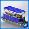 ギャザーのスポーツの販売のための新しい設計されていたアルミニウム余暇電気BBQドーナツボート
