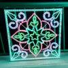 LED 크리스마스 불빛 훈장 밧줄 빛