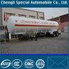 Semitrailer do tanque do LPG do tanque da entrega do gás dos eixos 56000liters 3