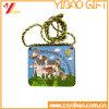 Подарок логоса цветастой монетки тесемки изготовленный на заказ (YB-HR-35)