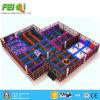 De professionele Goedkope Ronde Fabriek van de Trampoline van de Speelplaats van de Kinderen van het Nieuwe Product van de Trampoline Binnen Binnen Gymnastiek-