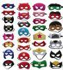 Fieltro barato de la máscara del super héroe de los cabritos de las máscaras de Hotsale Víspera de Todos los Santos Pary