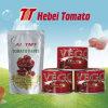 Alta qualidade enlatada e do saquinho de tomate da pasta
