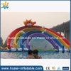 Fectory Preis-riesiges aufblasbares Wasser-Plättchen, Wasser-Regenbogen-Plättchen
