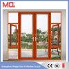 Дверь алюминиевой двери Casement внешняя с окном отверстия