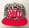 Cappello di Snapback, abitudine, stampa del leopardo